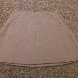 Khaki skirt!
